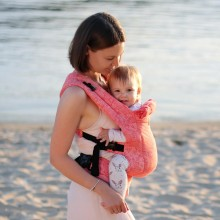 DLight Full Wrap Conversion ergonomic baby carrier - Flora SALE
