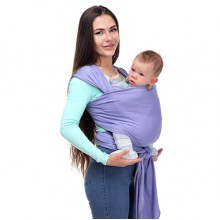 Stretchy baby wrap - Violet